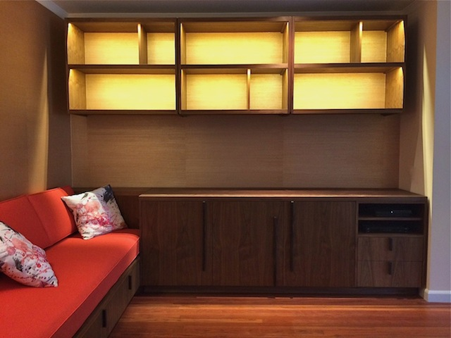 Display Shelves Cabinet Seating