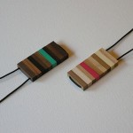 Tone Necklaces - Dark and Light Woods