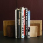 Timber Bookends
