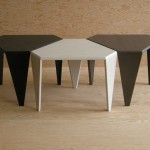 Nimble Tables - Black-White-Gray