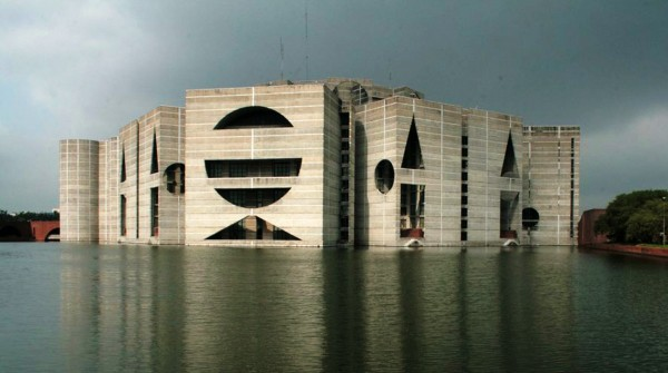 Louis kahn international man of mystery jason lees design for Bangladesh house picture