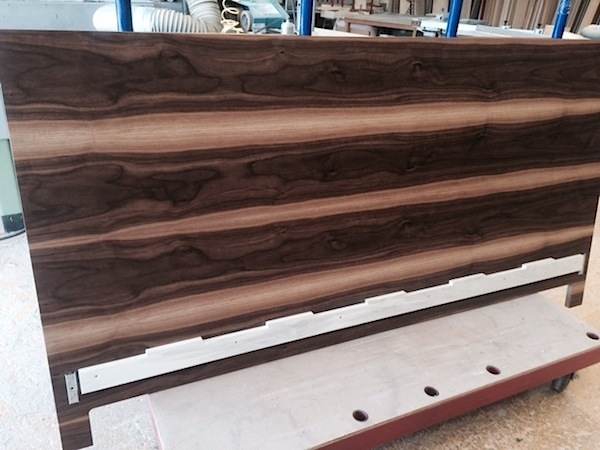 Character Walnut Headboard