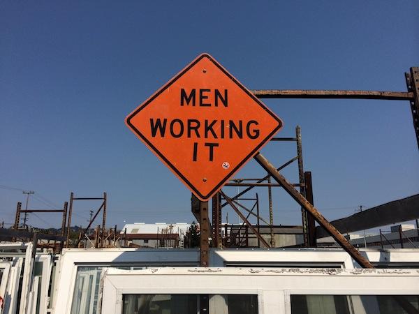 Men Working It