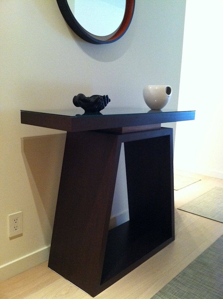 desks console tables jason lees design handcrafted. Black Bedroom Furniture Sets. Home Design Ideas